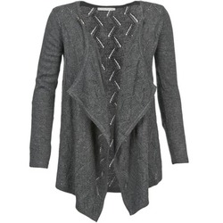 Vêtements Femme Gilets / Cardigans Betty London DINNA Gris