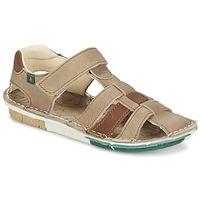 Chaussures Garçon Sandales et Nu-pieds El Naturalista KIRI Beige