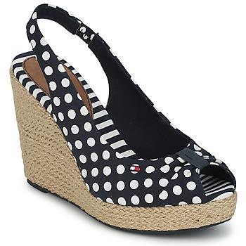 Chaussures Femme Sandales et Nu-pieds Tommy Hilfiger Emery 1E Bleu / Blanc