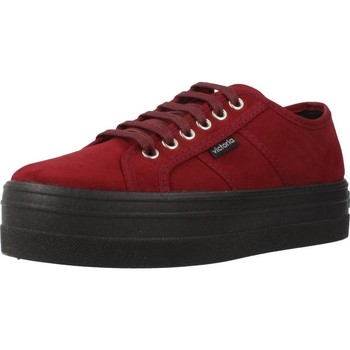 Chaussures Femme Baskets basses Victoria 109205 Rouge