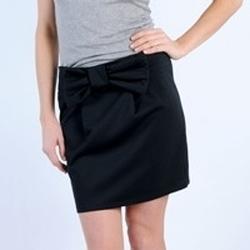 Vêtements Femme Jupes Tcqb JUPE SALLY NOIRE Noir