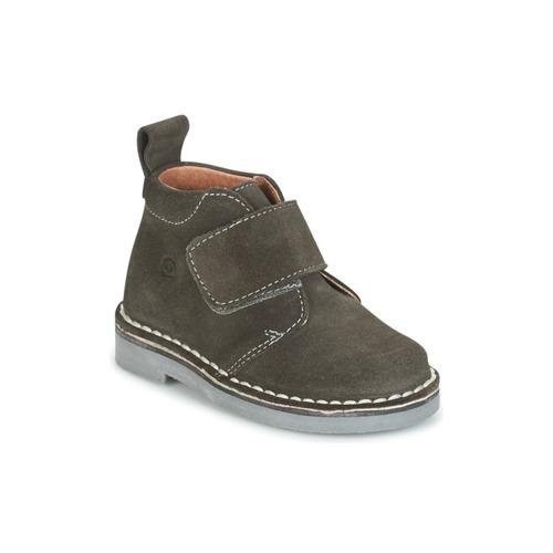 Chaussures Enfant Boots Citrouille et Compagnie ISINI Gris