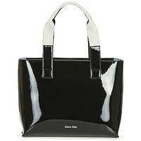 Sacs Femme Cabas / Sacs shopping Calvin Klein Jeans FLOW EW TOTE Noir
