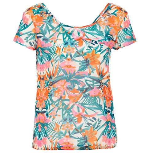 Vêtements Femme T-shirts manches courtes LTB SEHITABLE Multicolore