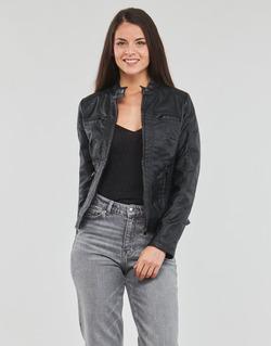 Vêtements Femme Vestes en cuir / synthétiques Moony Mood DESCUNE Noir