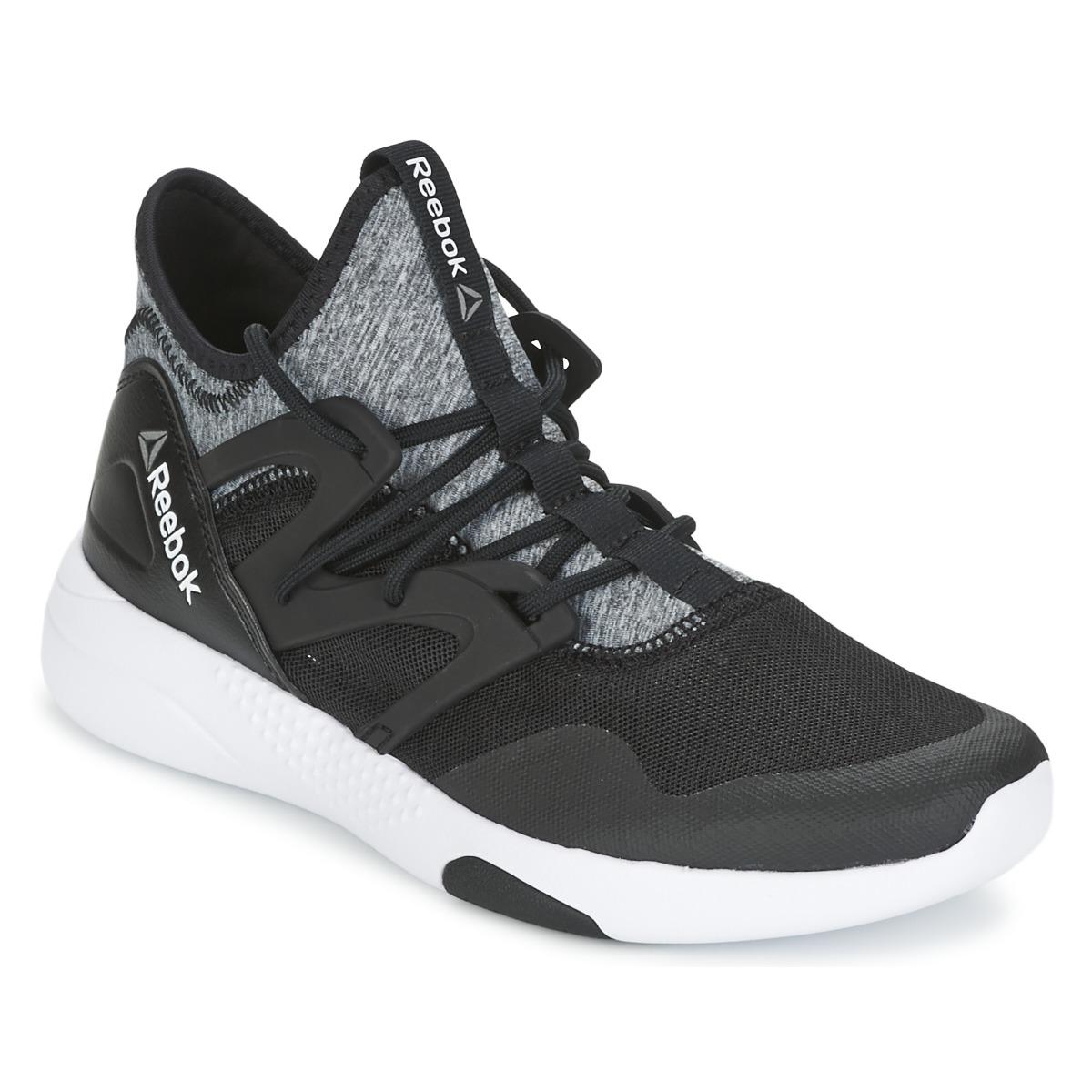 c6e3bb78a1a64 ... Chaussures Femme Fitness   Training Reebok Sport HAYASU DANCE Noir    Gris ...