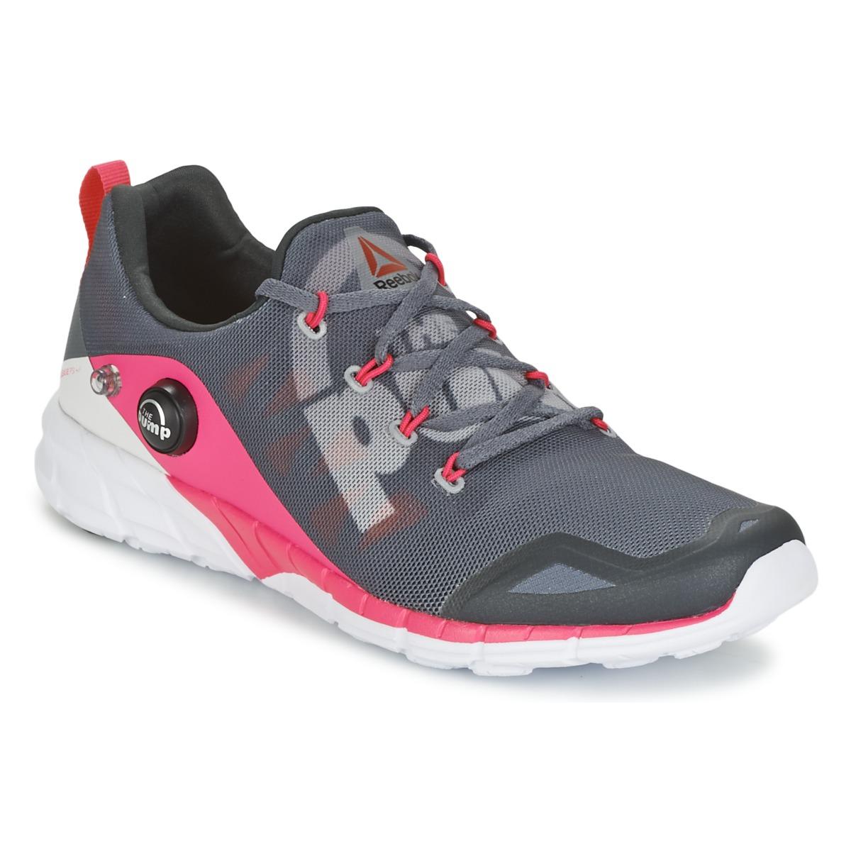 Chaussures-de-running Reebok REEBOK ZPUMP FUSION Gris / Rose