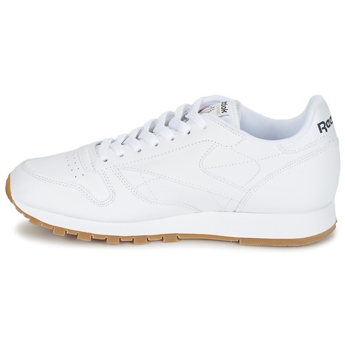 Classic Leather Basses Blanc Chaussures Baskets Reebok y0vmwn8NO