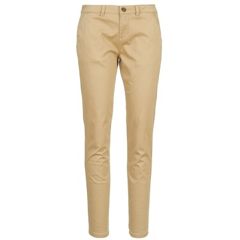Vêtements Femme Chinos / Carrots Casual Attitude DOMINO Beige