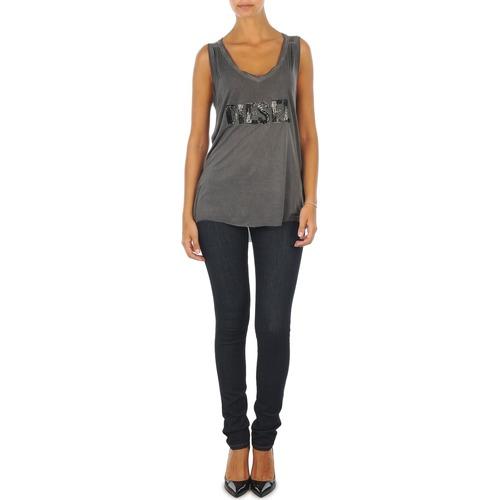 Vêtements Femme Jeans slim Diesel SKINZEE L.32 TROUSERS Bleu