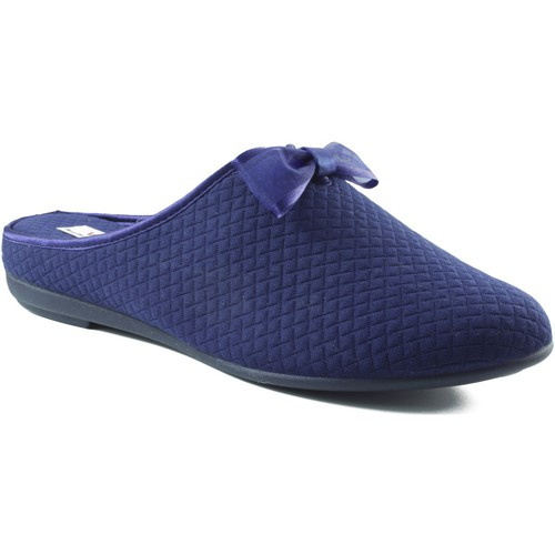 Chaussures Femme Chaussons Vulladi Chaussure intérieure carrée BLEU
