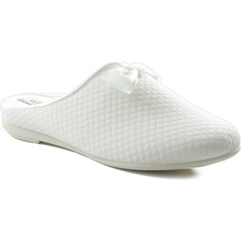 Chaussures Femme Chaussons Vulladi Chaussure intérieure carrée BLANC