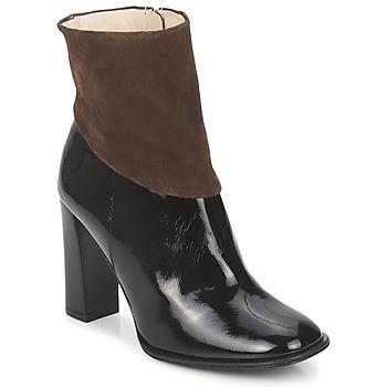 Bottines / Boots Paco Gil MERLOUNI Noir / Marron 350x350