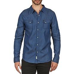 Vêtements Homme Chemises manches longues Le Temps des Cerises RONDAL Bleu