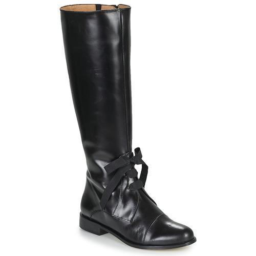 Samoa PARDA Noir - Livraison Gratuite avec  - Chaussures Botte ville Femme