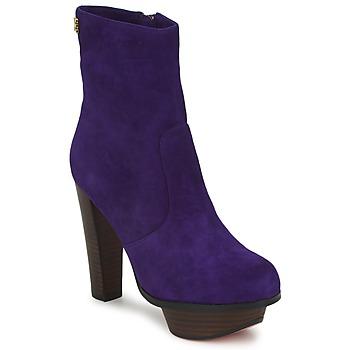 Bottines / Boots Edith & Ella GANTOUKITA Violet 350x350