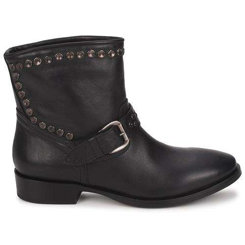 Jfk Maselle Noir - Livraison Gratuite- Chaussures Boot Femme 223