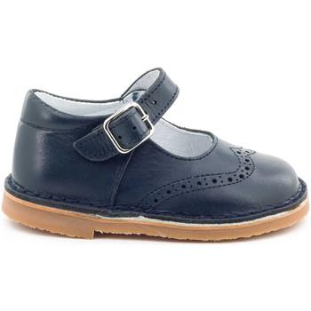 Chaussures Fille Ballerines / babies Boni Classic Shoes Boni Lea - Chaussures fille premiers pas Bleu Marine