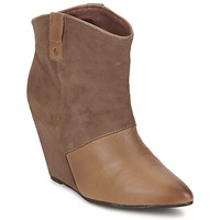 Chaussures Femme Bottines Koah LIBERTY Taupe