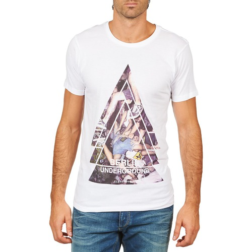 T-shirts & Polos Eleven Paris BERLIN M MEN Blanc 350x350