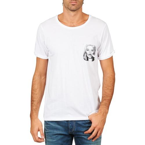 T-shirts & Polos Eleven Paris KMPOCK MEN Blanc 350x350