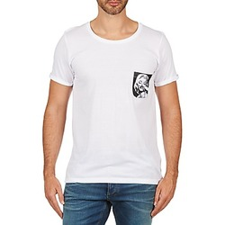 Vêtements Homme T-shirts manches courtes Eleven Paris MARYLINPOCK MEN Blanc