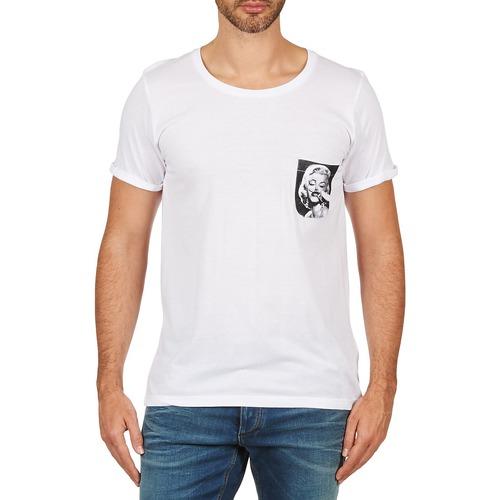 Vêtements Homme T-shirts manches courtes Eleven Paris MARYLINPOCK MEN Blanc