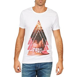 Vêtements Homme T-shirts manches courtes Eleven Paris MIAMI M MEN Blanc