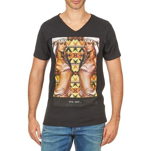 Vêtements Homme T-shirts manches courtes Eleven Paris N35 M MEN Noir
