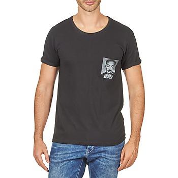 T-shirts & Polos Eleven Paris WOLYPOCK MEN Noir 350x350