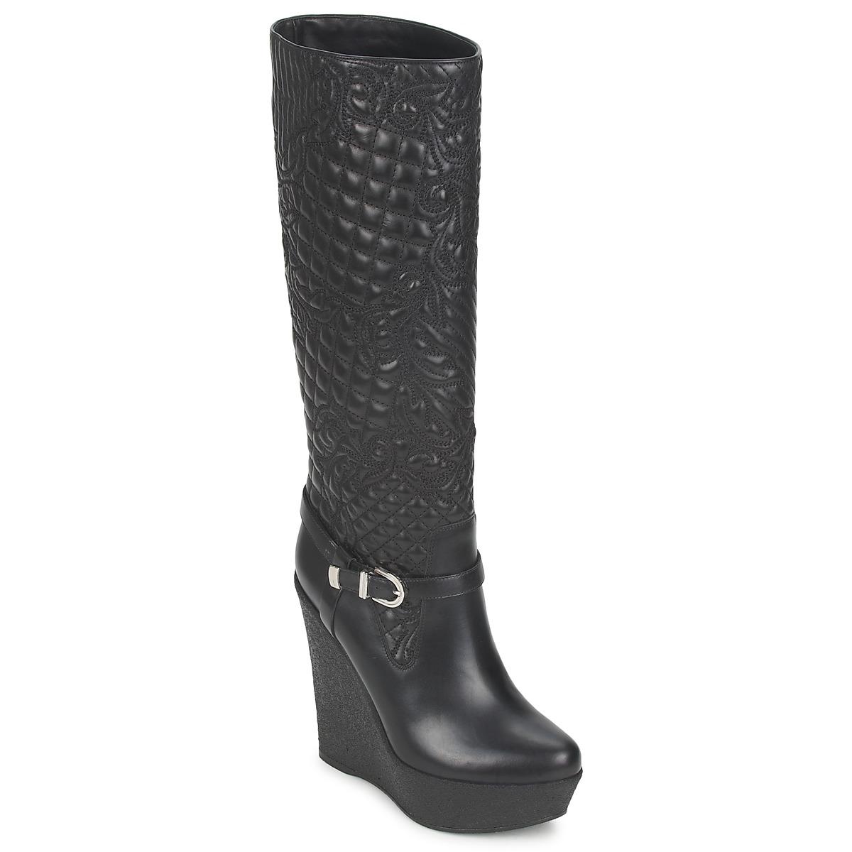 Botte ville Versace DSL909R Noir