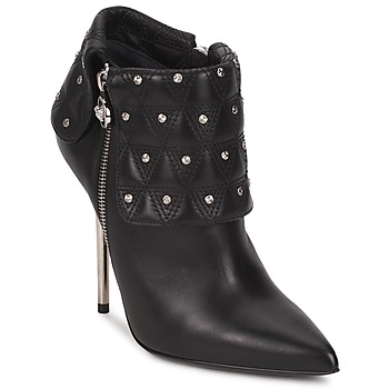 Chaussures Femme Bottines Versace DSL894P Noir