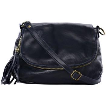 Sacs Femme Sacs Bandoulière Oh My Bag Sac à Main cuir souple - Modèle 72 heures (petit) bleu foncé BLEU FONCE