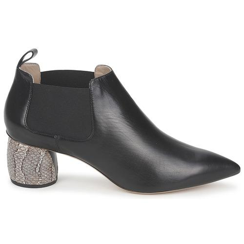 Noir Equatore Boots Jacobs Low Femme Marc wkluPXTOZi