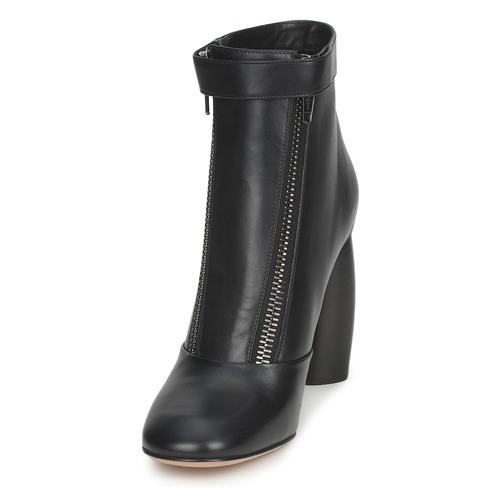 Jacobs Chaussures Marc Bottines Norvegia Femme Noir 4j35ALR