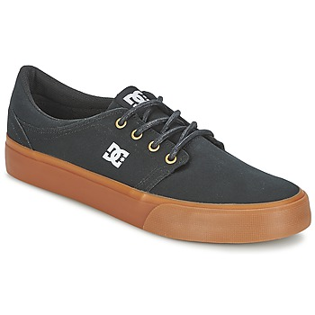 Chaussures Homme Baskets basses DC Shoes TRASE TX Noir / Or