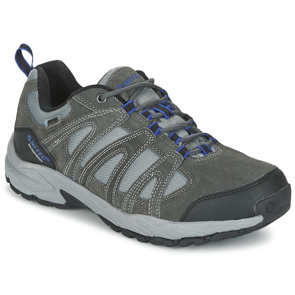 Chaussures-de-randonnee Hi-Tec ALTO II LOW WP Charbon / Bleu