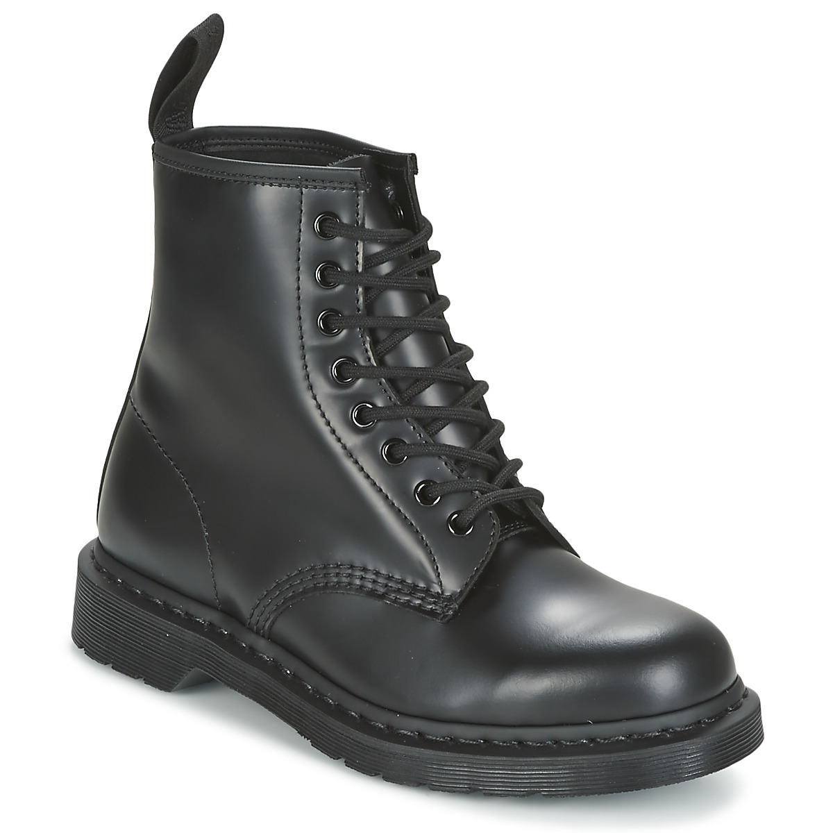 5b614eb9f9b1 Chaussures Boots Dr Martens 1460 MONO Noir Smooth