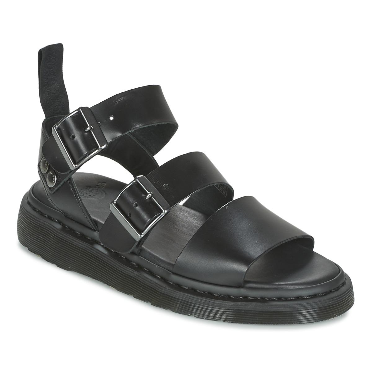 ded5b0399eb Dr Martens Gryphon Noir - Chaussures Sandale 134