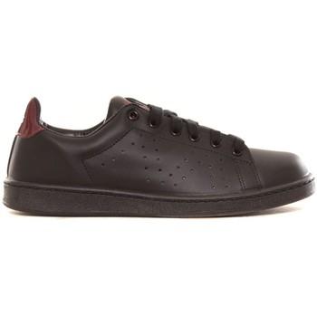 Chaussures Femme Baskets basses Cassis Côte D'azur Baskets Marine noir et bordeaux Noir