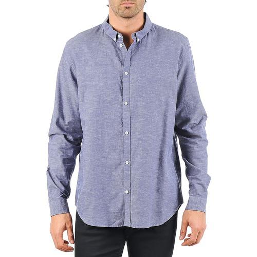 Cheap monday damon bd shirt bleu livraison gratuite avec for Domon livraison