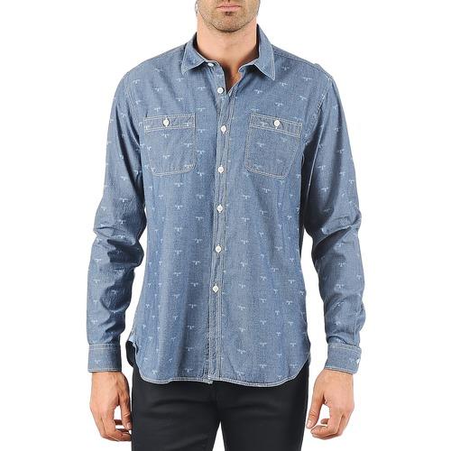 Vêtements Homme Chemises manches longues Barbour LAWSON Bleu