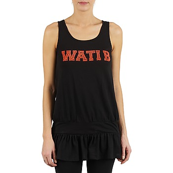 Vêtements Femme Débardeurs / T-shirts sans manche Wati B TUNIQ Noir