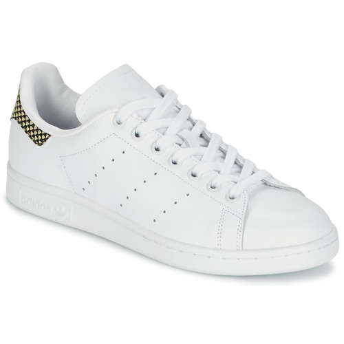 Chaussures Femme Baskets basses adidas Originals STAN SMITH Blanc