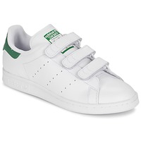 Chaussures Baskets basses adidas Originals STAN SMITH CF Blanc / vert