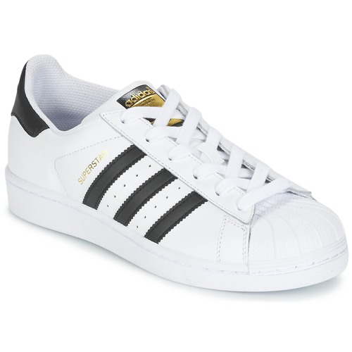 adidas Originals SUPERSTAR J Blanc / noir