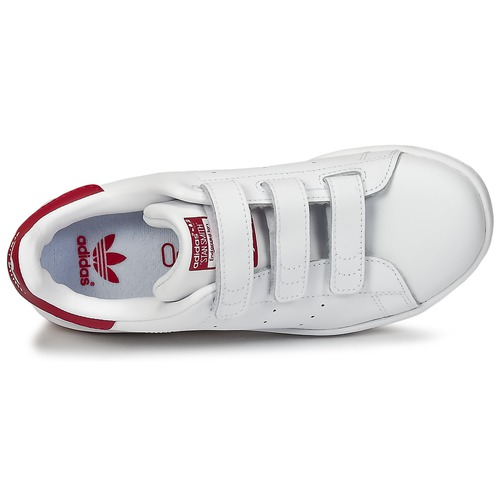 Blanc Stan Cf Fille Adidas Smith Chaussures Baskets Basses Originals C EH2WD9IY