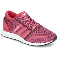 Chaussures Femme Baskets basses adidas Originals LOS ANGELES W Rose