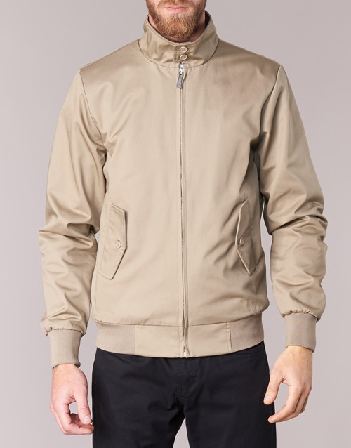 Homme Paul Homme Blousons Beige Harrington Paul Harrington Blousons MqUpzVS