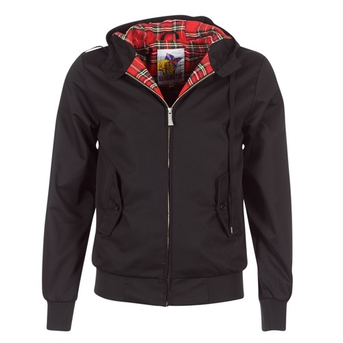 Vêtements Homme Blousons Harrington HARRINGTON HOODED Noir